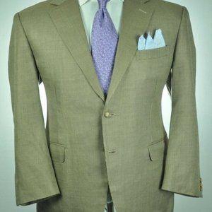 CANALI Italian Tan & Gray Modern 2Btn Sport Jacket